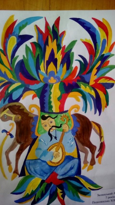 Альбом: Конкурс малюнків до Дня захисника України та Дня українського козацтва