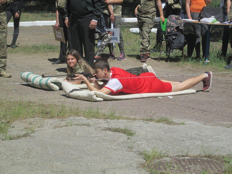 Альбом: Районний етап Всеукраїнської дитячо-юнацької військово-патріотичної гри «Сокіл» («Джура»)»