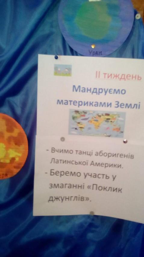 """Альбом: Пришкільний заклад відпочинку """"ВСЕСВІТ"""""""